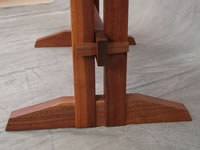Side table - black walnut