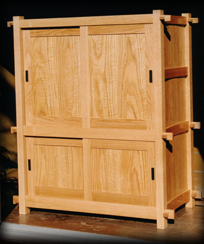 Tansu in oak